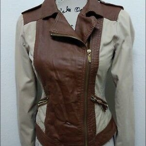 Brown/Tan Forever 21 jacket